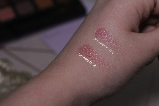 Pink swatch shade