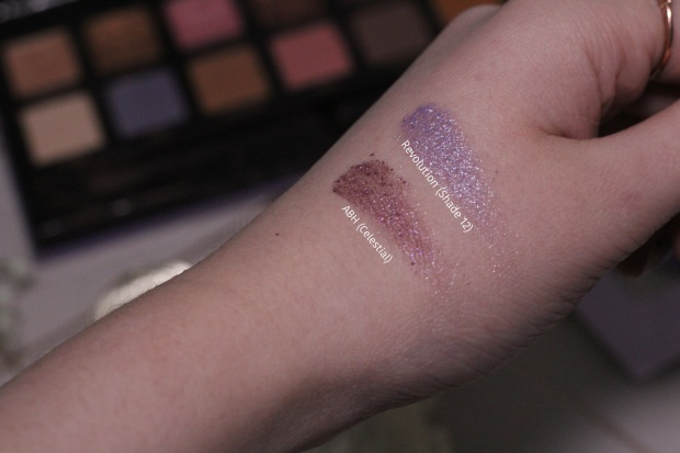 Purple swatch shade